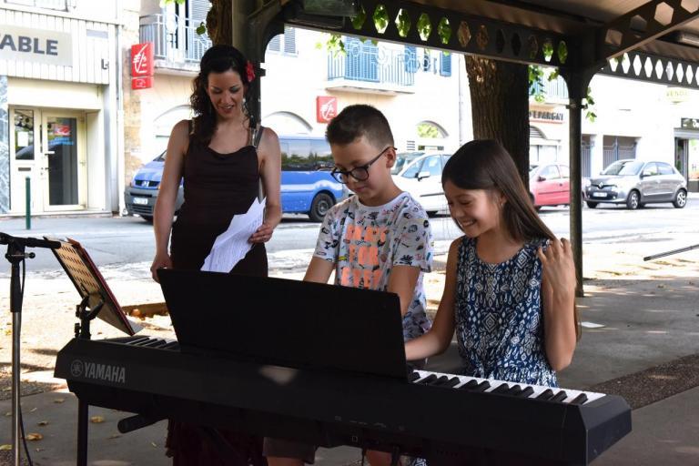 Elèves de piano du Chant des Koteaux