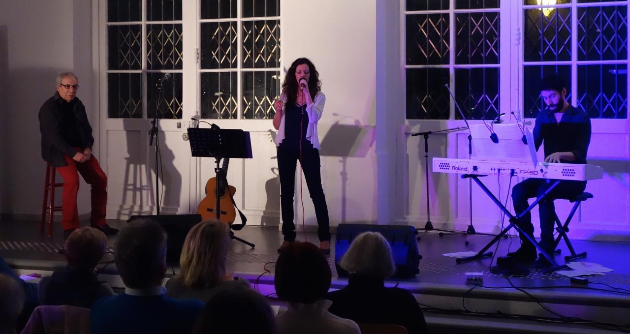 Concert Karen Jullien & Bernard Tranchant avec Guillaume Le Ray au piano