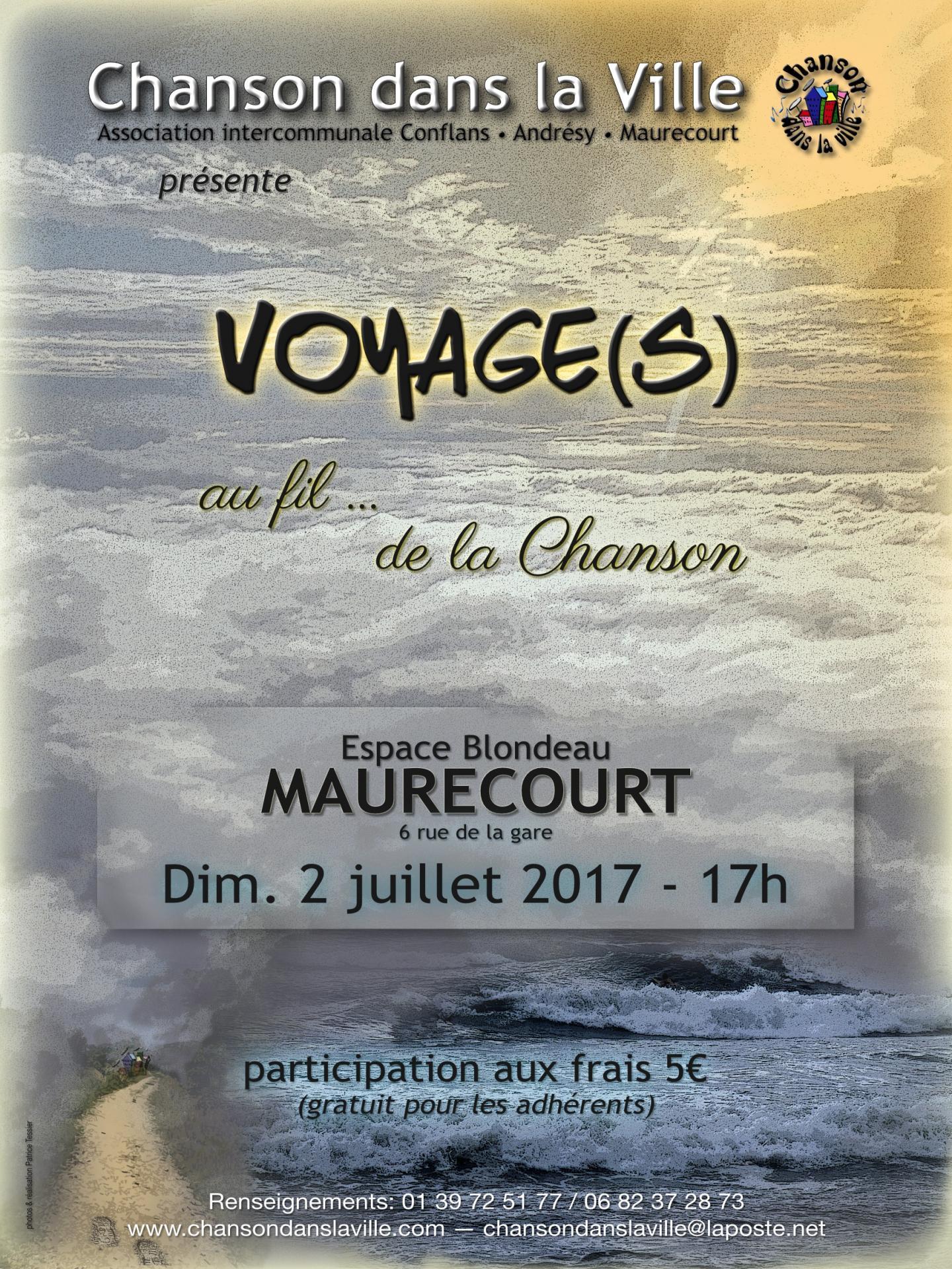 Affiche maurecourt 2 juillet
