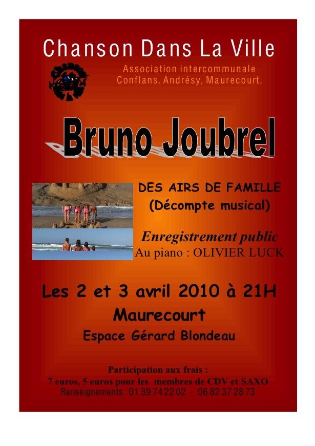 Cdlv flyer recto verso pour re cital 2 3 avril 2010